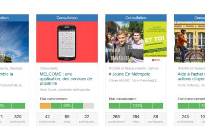 Les plateformes Web d'information et de participation citoyenne